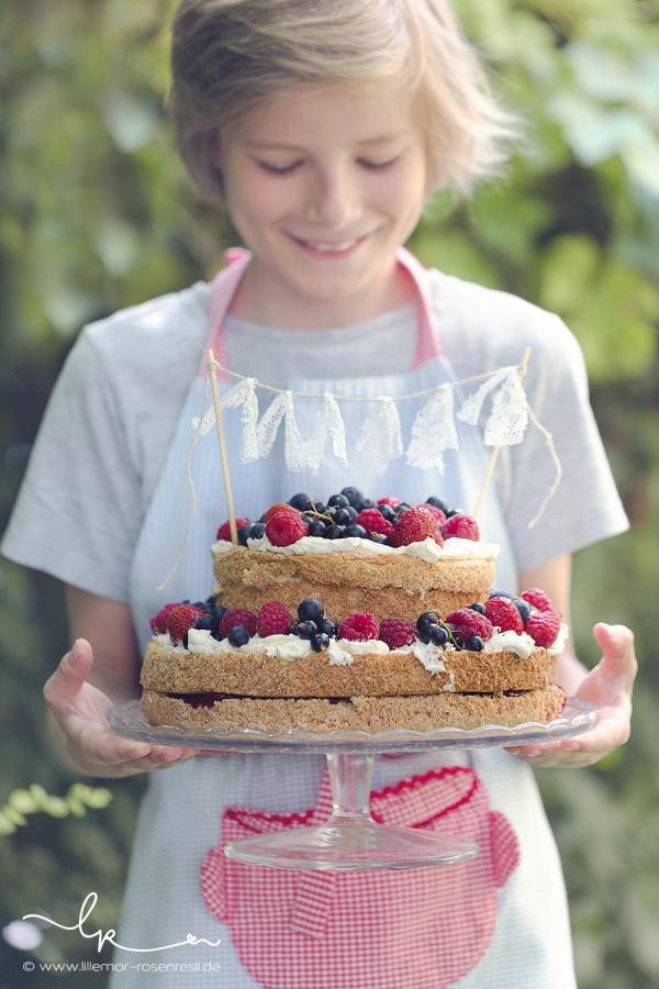 Alice im Wunderland - Torte
