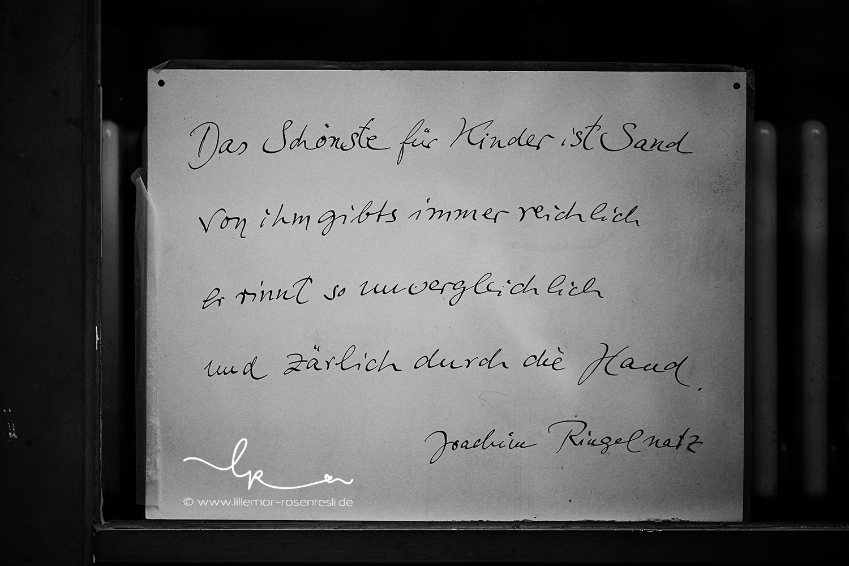 Ringelnatz, Strandgut, Berlin, Ute Strub, Emmi Pikler, Waldorfkindergarten, Spielraum, Kleinod, Lillemor Fotografie, Bietigheim