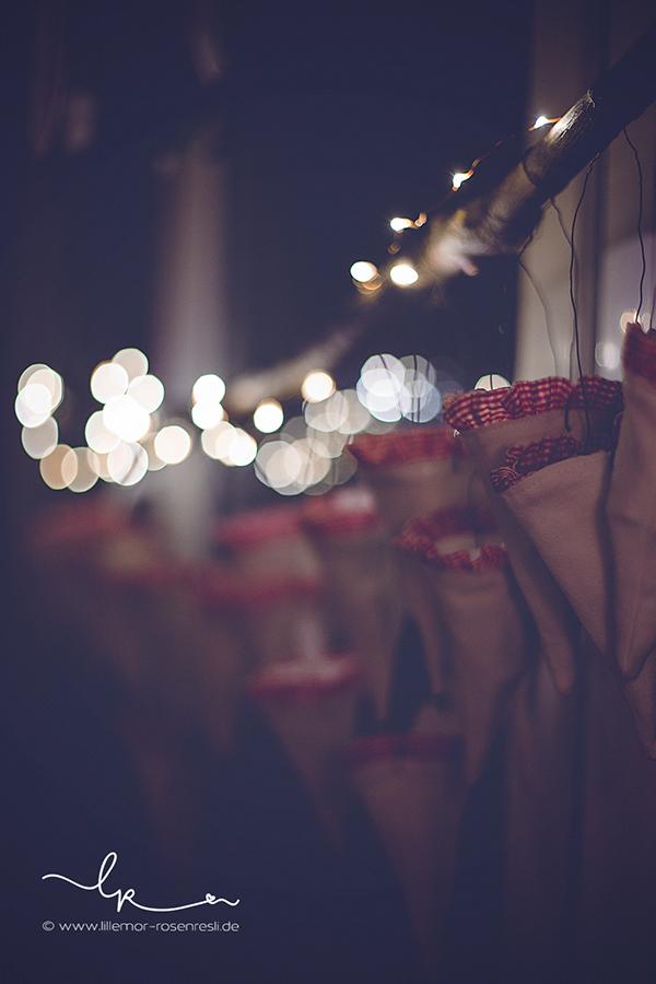 Adventskalender, Spitztüten vom Rosenresli genäht, Advent, Weihnachten, Lillemor Fotografie, Bietigheim-Bissingen,