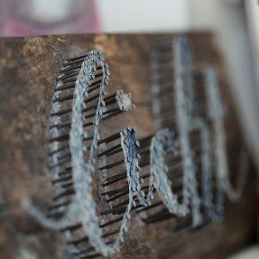 Nagelbild, Licht, Detail, Weihnachtsgeschenk, Lillemor, Fotograf, Bietigheim-Bissingen