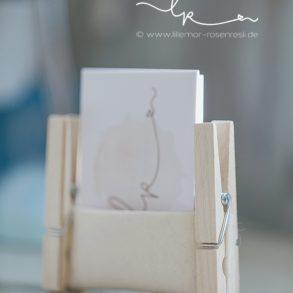 DIY, Visitenkartenhalter aus Filz, Wollfilz, Holzwäscheklammern, Rosenresli, Lillemor Fotografie, Fotograf, Bietigheim-Bissingen