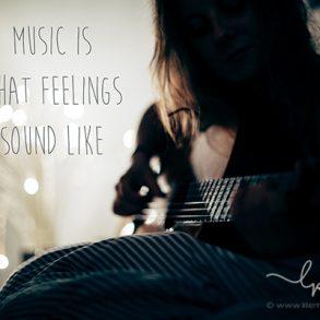 music is what feelings sound like, Lillemor Fotografie, Bietigheim-Bissingen
