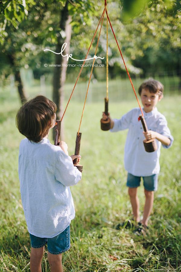 Holz & Filz, Waldorfkindergarten, Handwerken mit Mama & Papa, Abschiedsgeschenk von den Großen, Lillemor, Kinderfotografie, Bietigheim-Bissingen