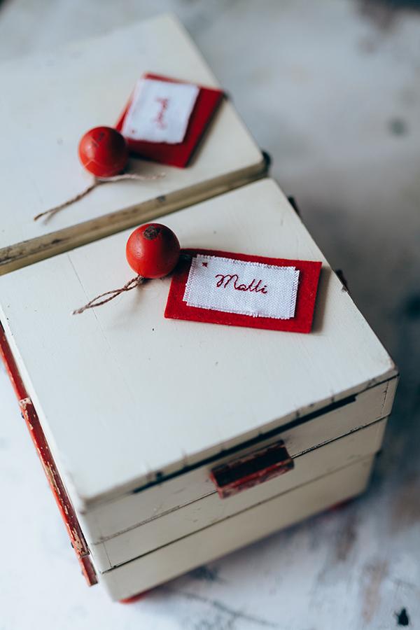 antikes Nähkästchen, Zwillings-Geburtstagsgeschenk, für die kleinen Schneiderleins