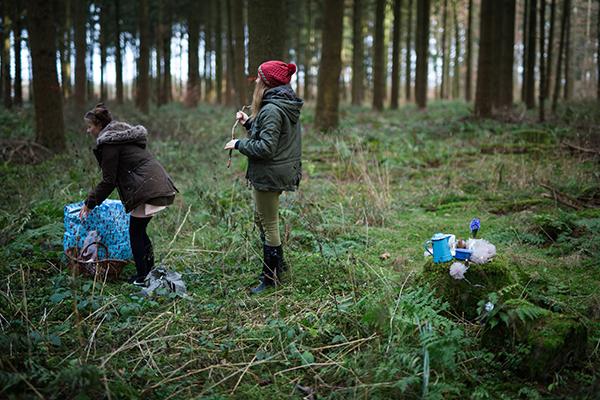 Zauberzarter Elfengarten, Buchprojekt mit Daniela Drescher & acufactum, making of, behind the scenes