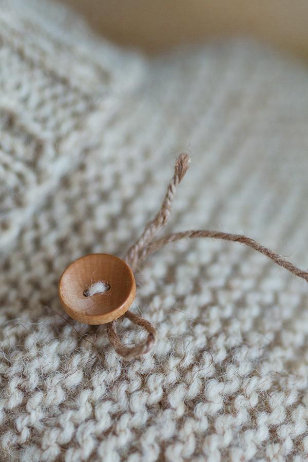 etwwas für`s Lädchen - gestrickt aus Wolle vom Coburger Fuchsschaf